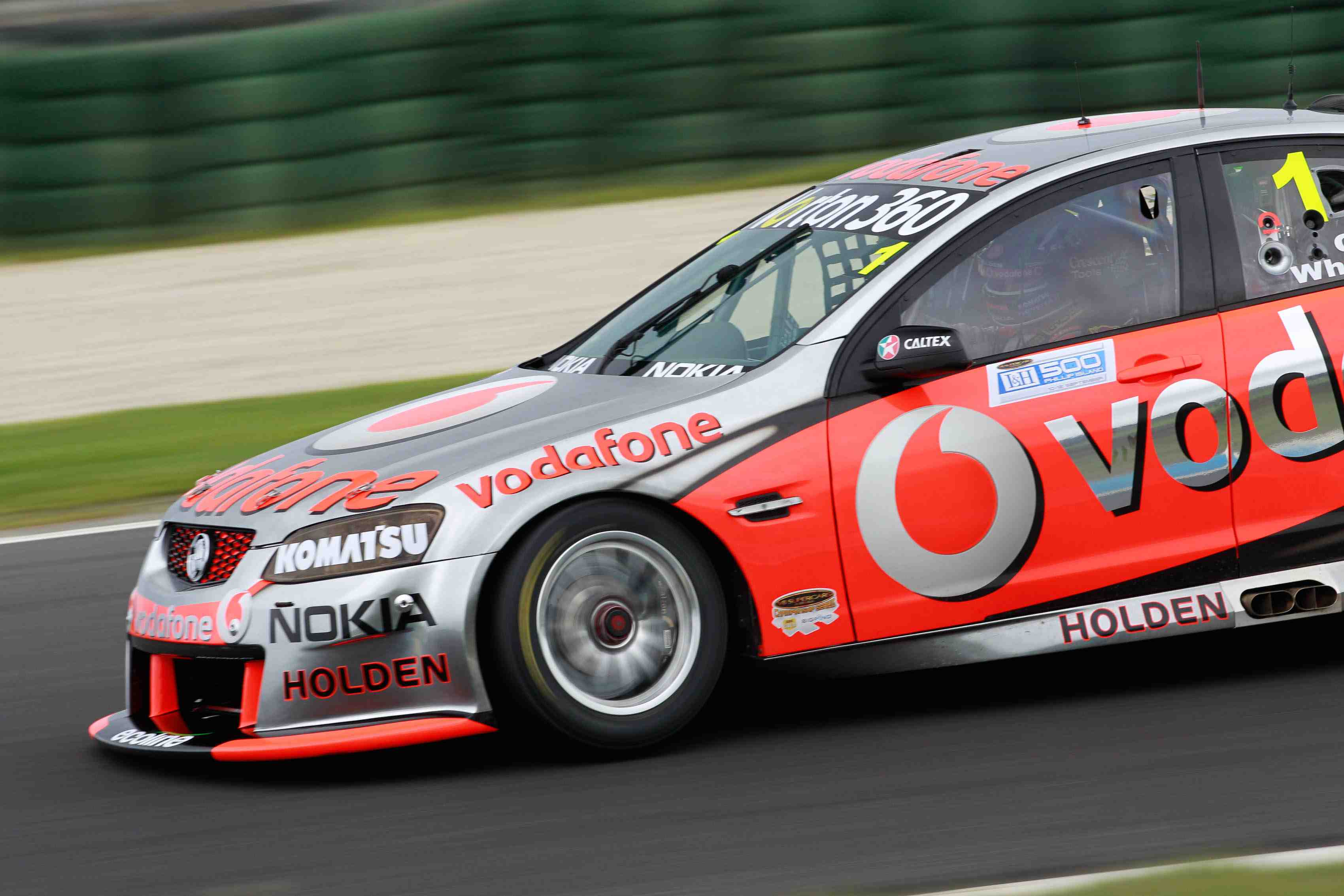 Qualifying Race, Driver 2, Kelly win, Whincup pole