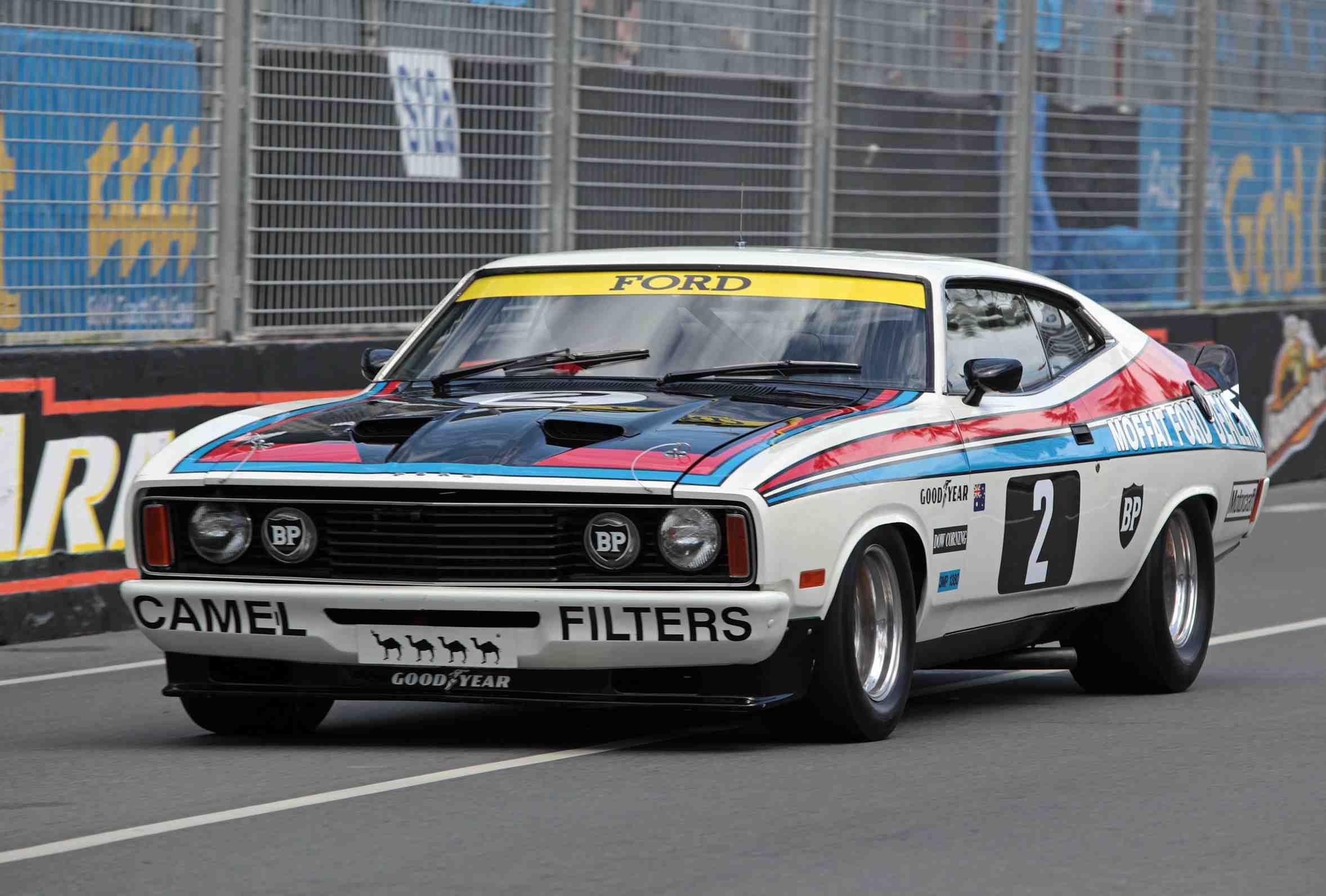 Bond's second fling in 1977 Bathurst winner