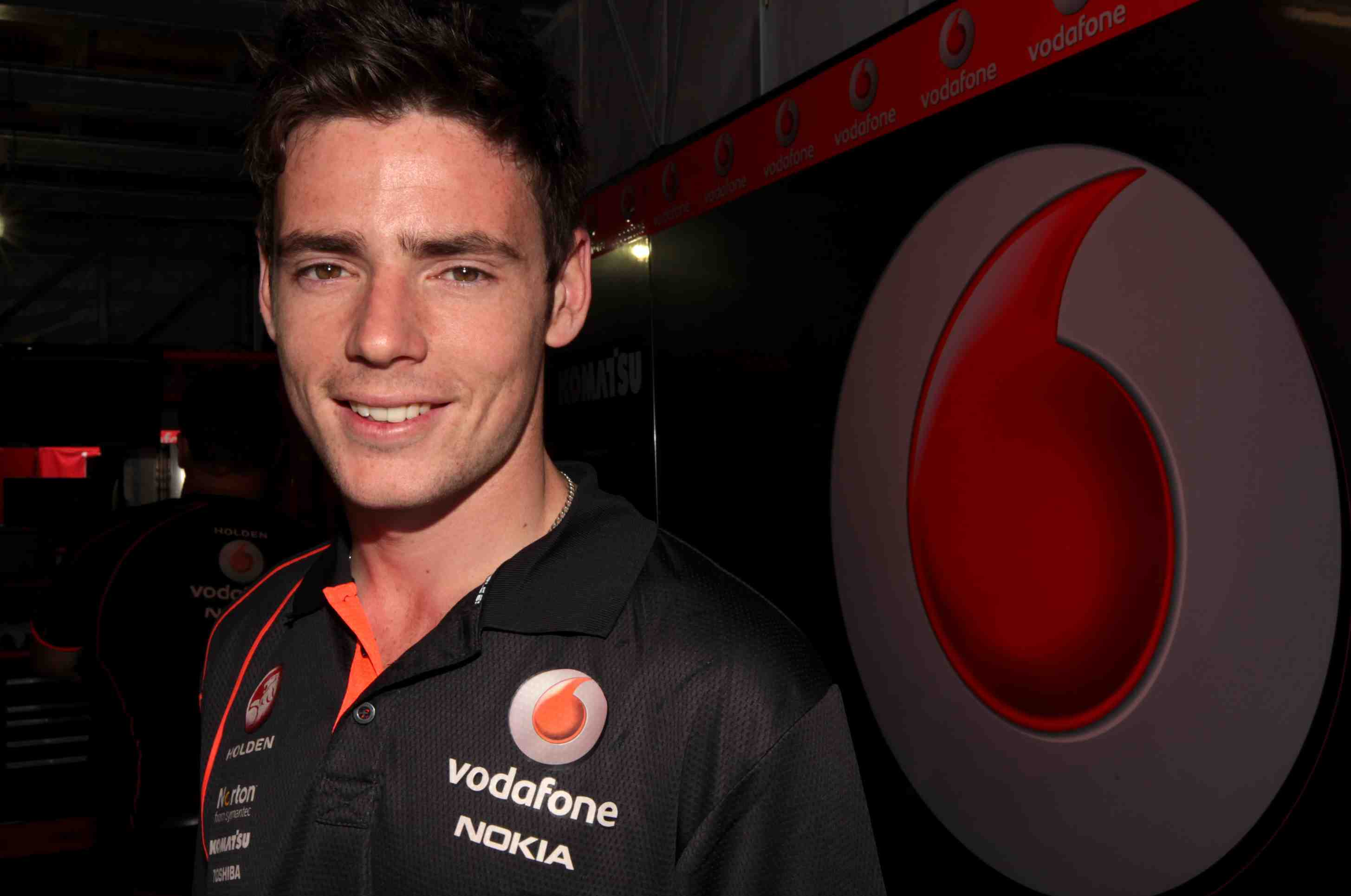 Pye gets up close with TeamVodafone