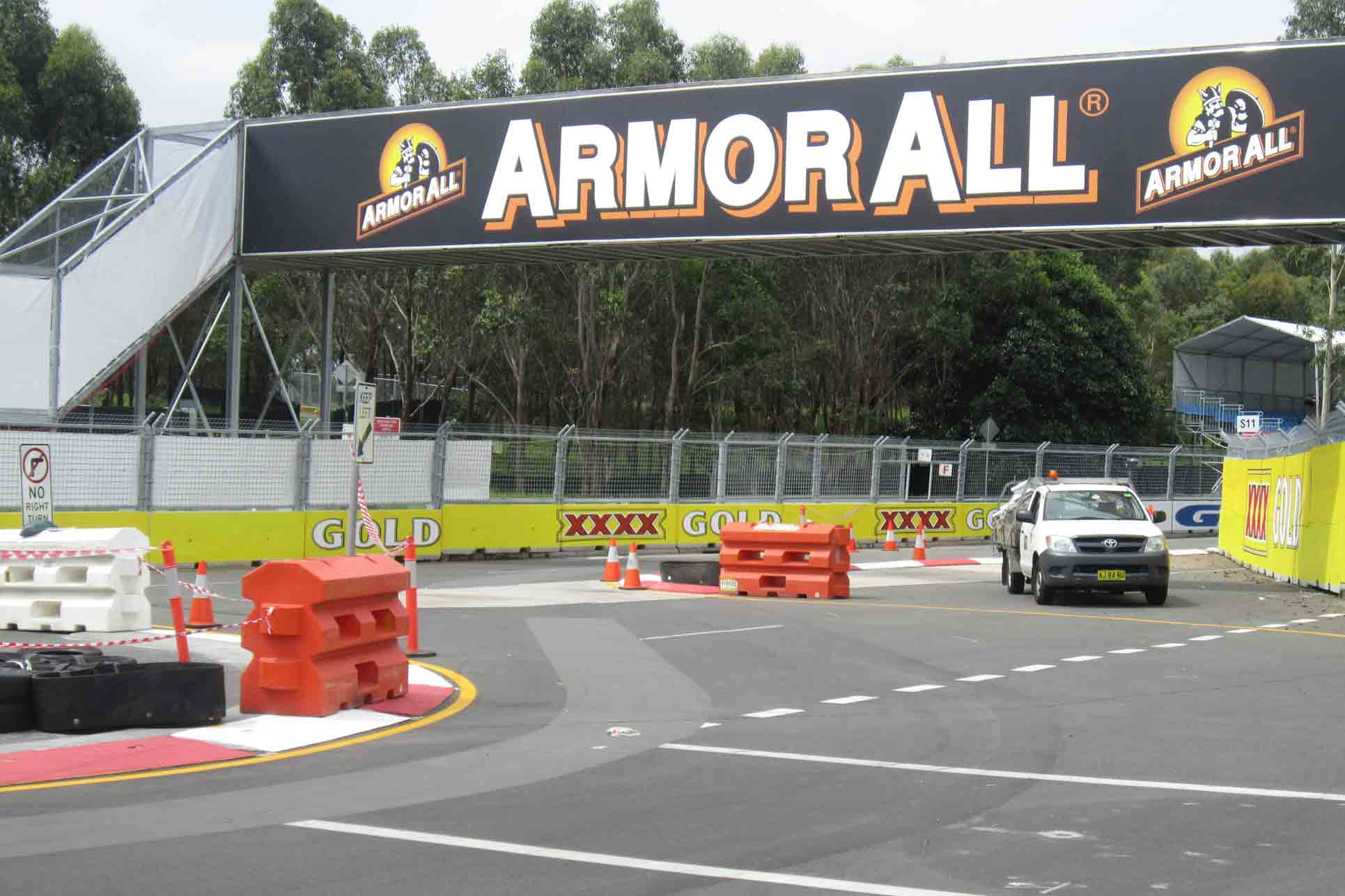 Track changes made ahead of Sydney 500