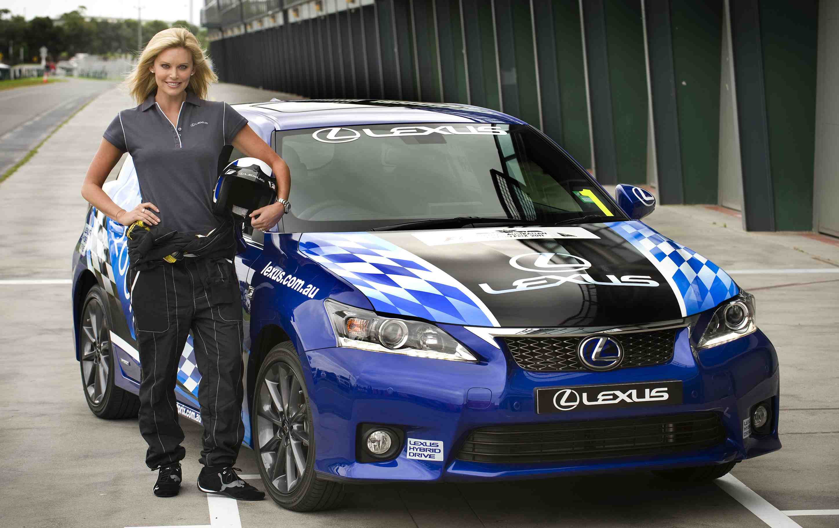 Celebrity race returns to AGP with Lexus hybrid