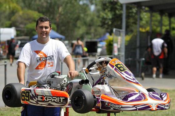 Top line karters go testing