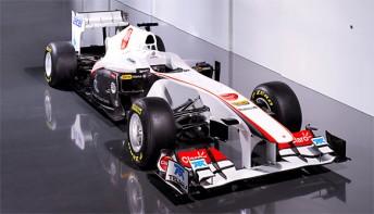 Sauber's new C30