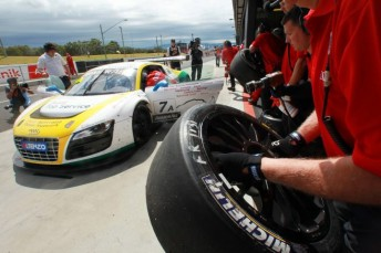 The pitstop rules proved costly for Lowndes