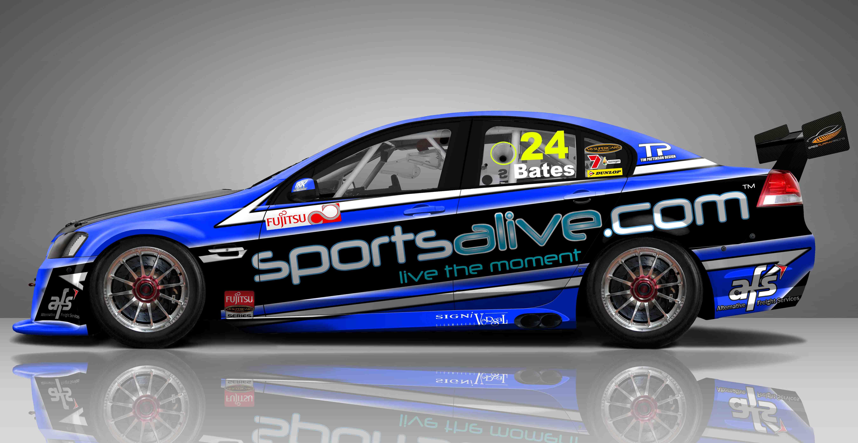 Tony Bates returns to Fujitsu V8 Series