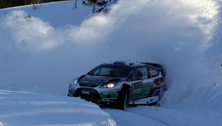 Five drivers in contention for Rally Sweden victory