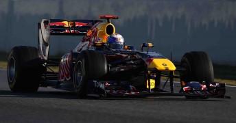 Vettel on track at Barcelona