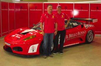 Jason Richards: Ferrari drive 'like therapy'
