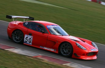 A Ginetta G50 HC competing in Britain
