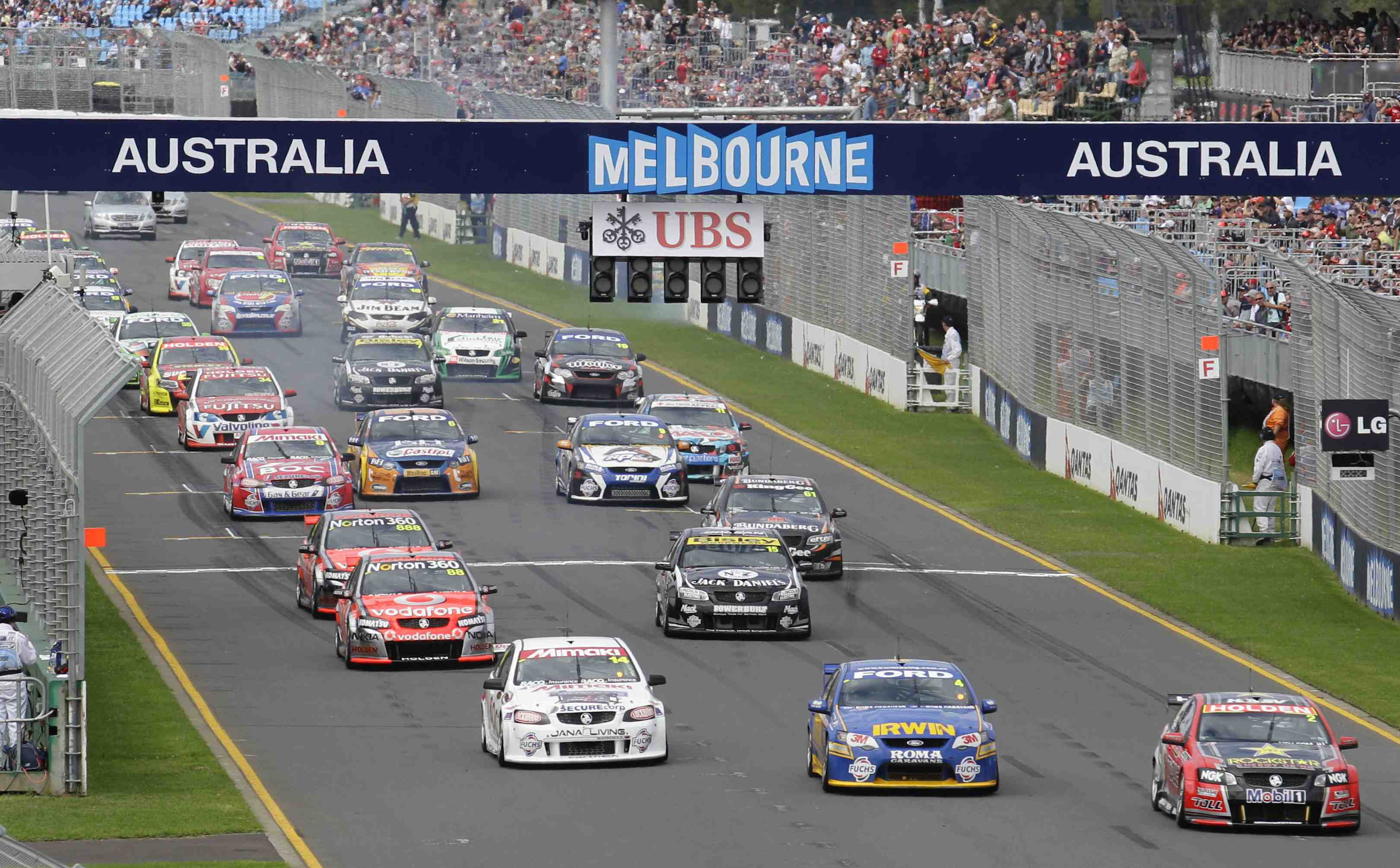 V8s confirms mid-year COTF test debut