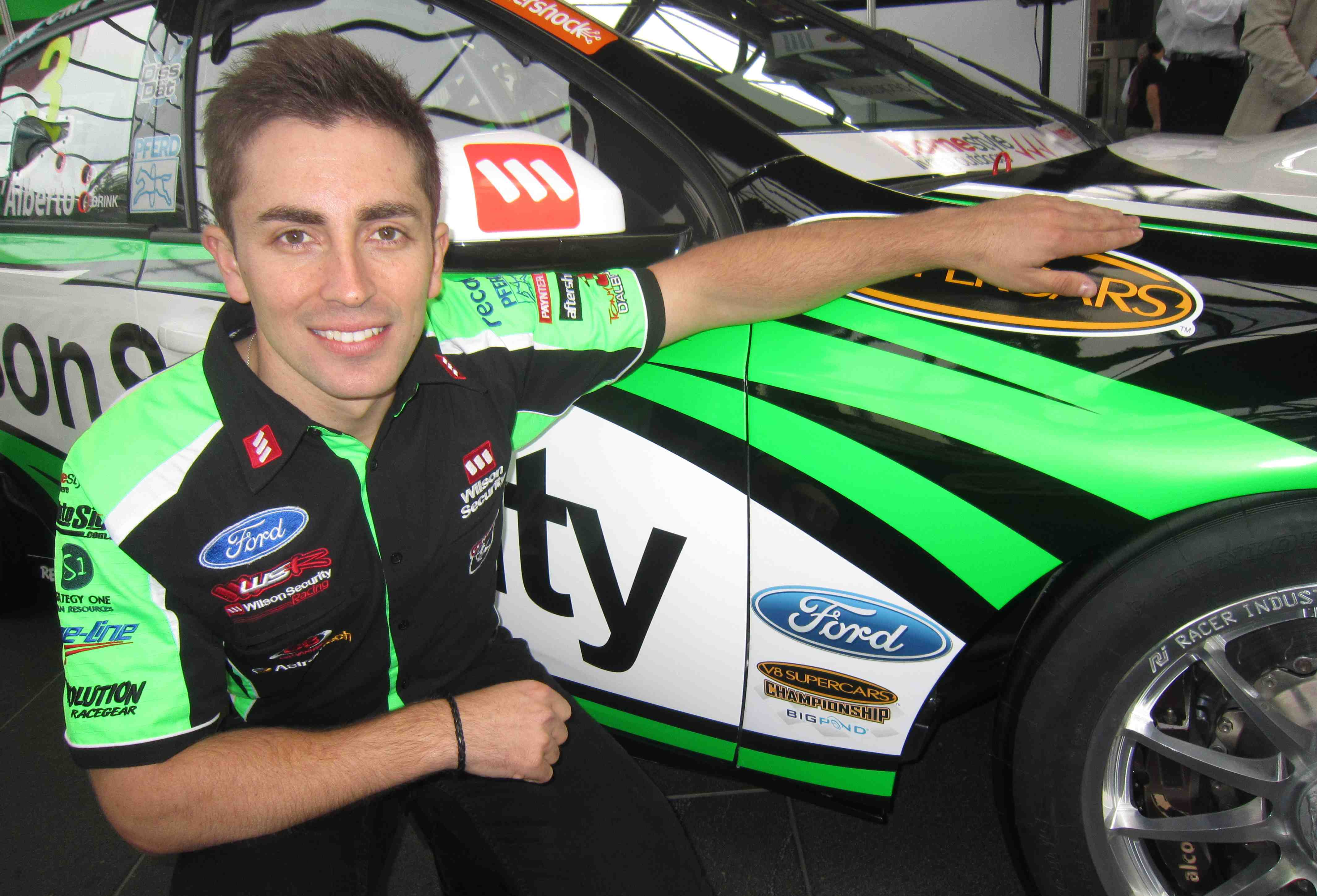 D'Alberto secures official Ford backing