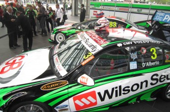 The Wilson Security Racing Ford and Holden team