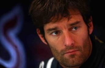 Mark Webber topped Practice 1 in Melbourne