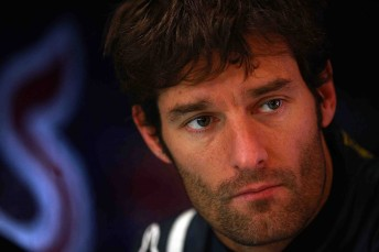 Mark Webber fastest in Practice 1