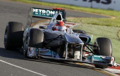 Schumacher warns against writing Mercedes off