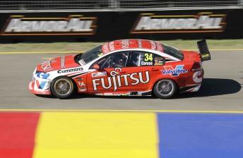 Michael Caruso's #34 Fujitsu Racing Commodore VE