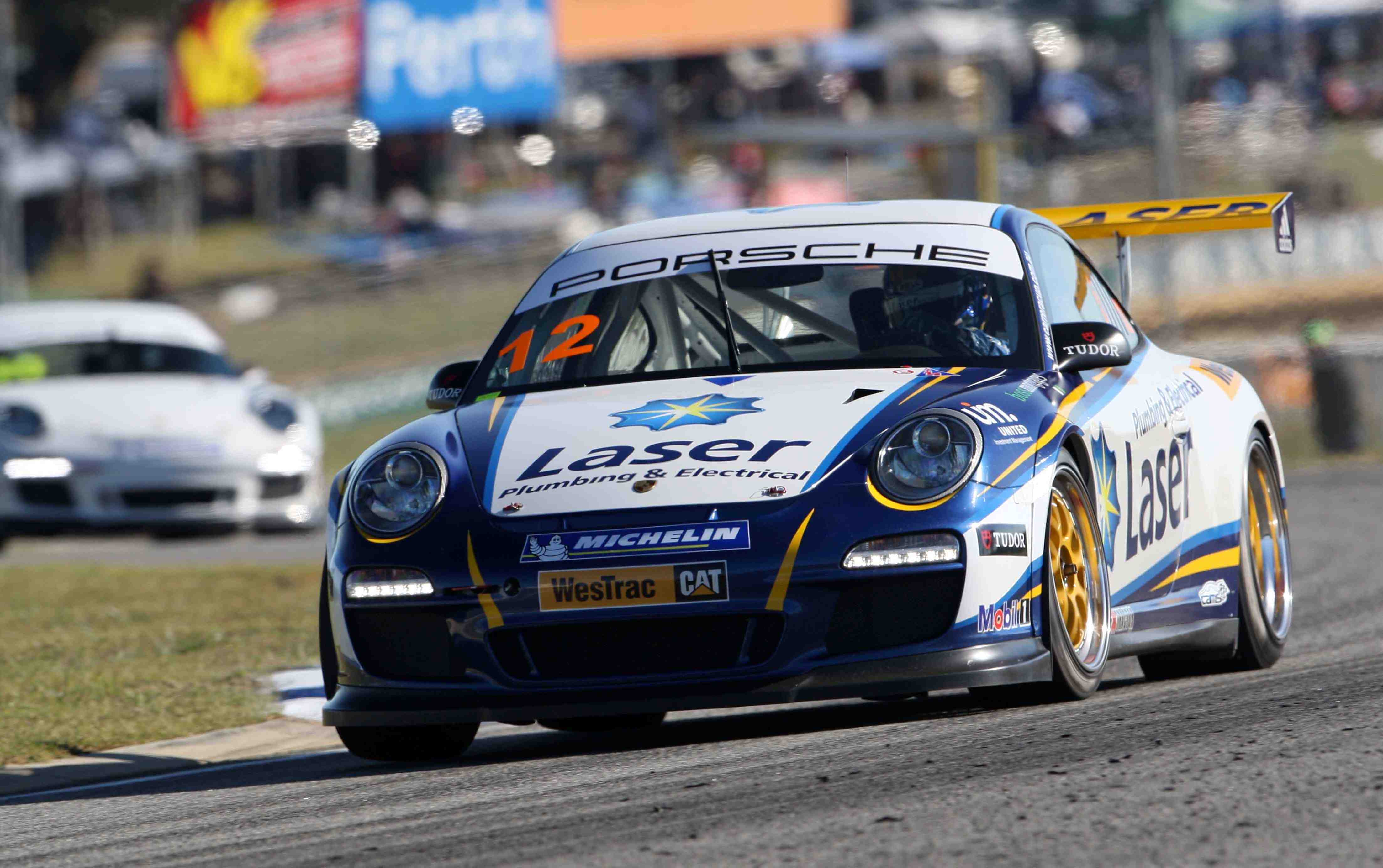 Steve Richards tops times in Carrera Cup
