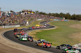 The Barbagallo layout provided plenty of action