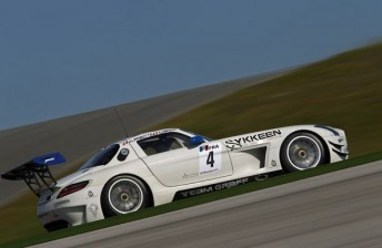 GT3 Mercedes 344x224 Mercedes GT3 undergoes parity testing