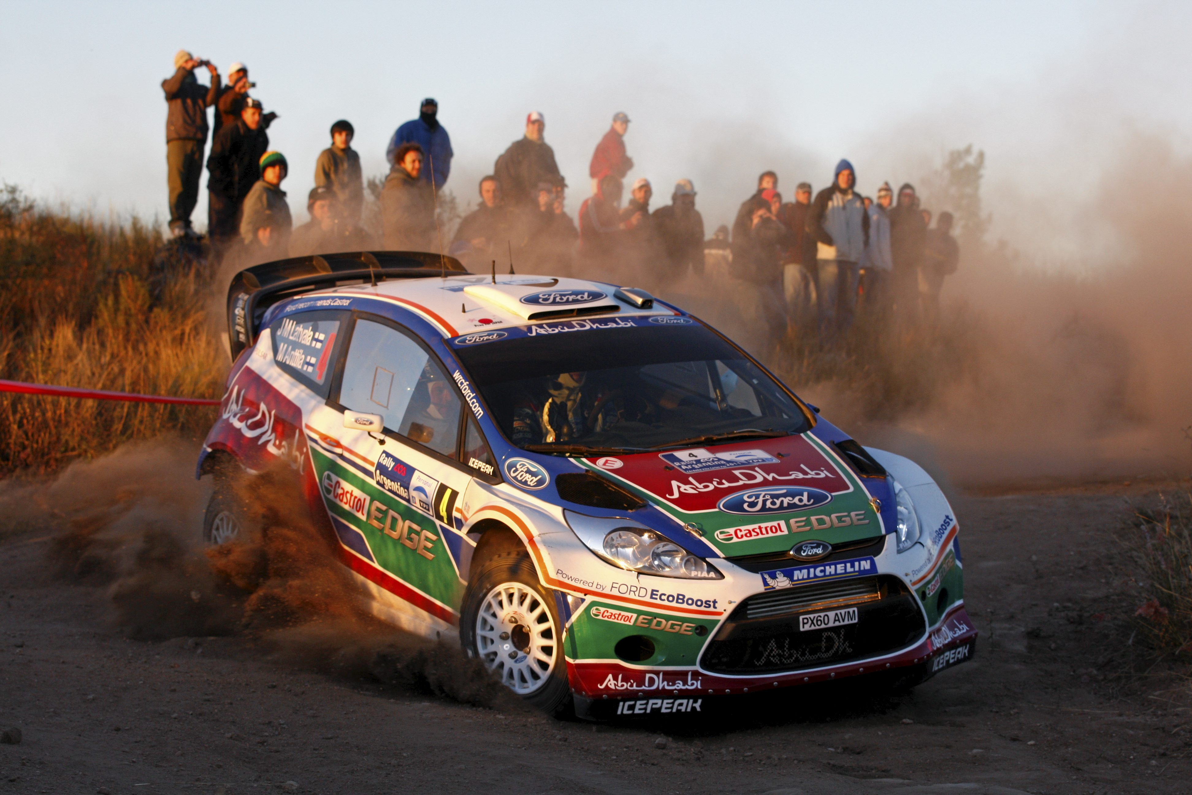 Latvala heads the field in Argentina