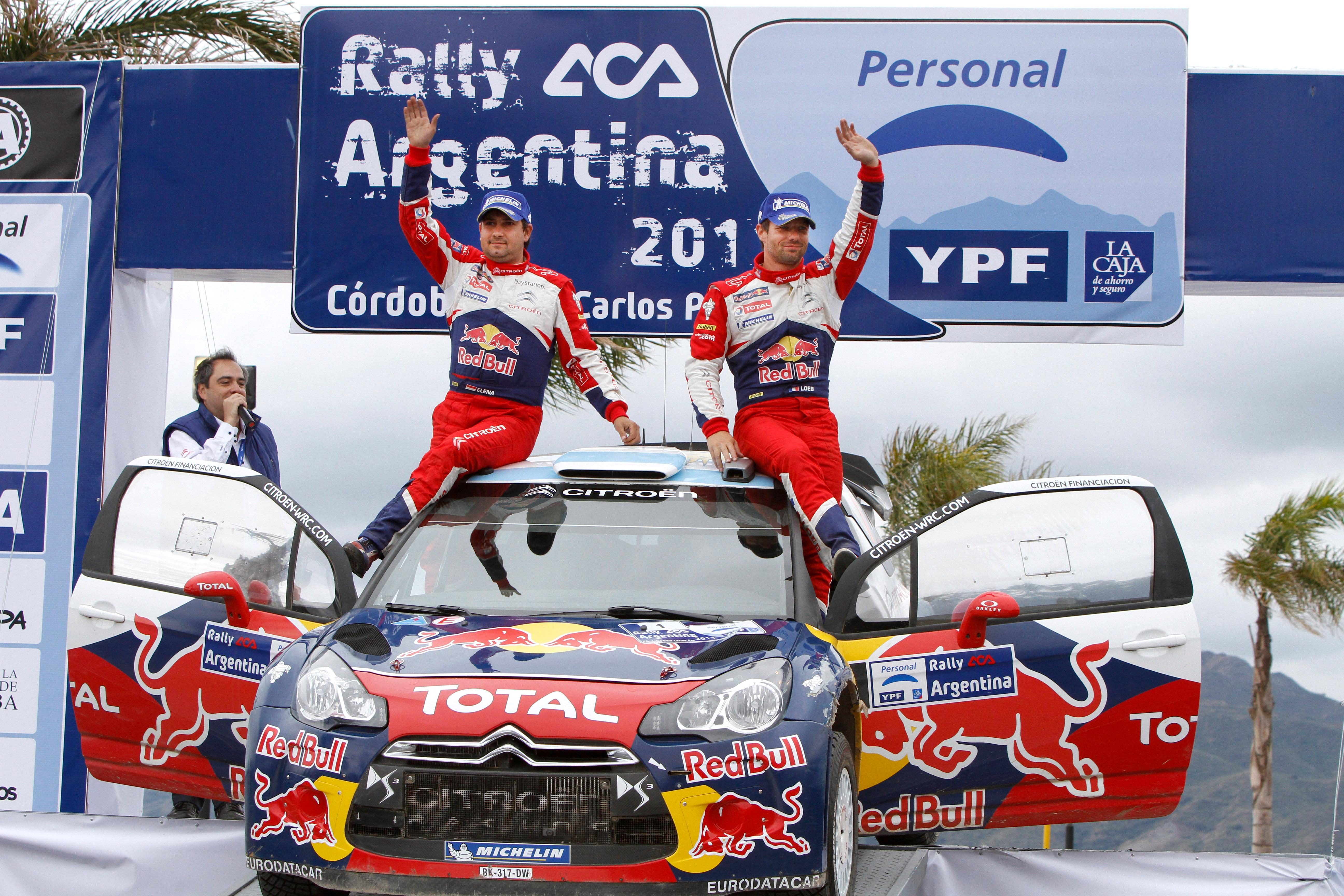 Loeb wins his sixth Rally Argentina