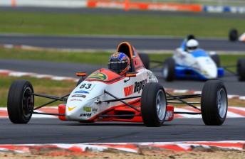 Matt Brabham wins first Formula Ford race
