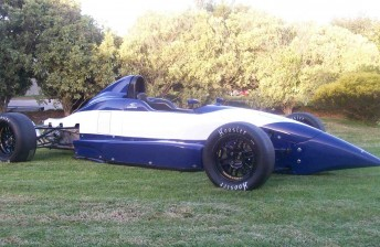 The Spectrum F1600 Formula F chassis
