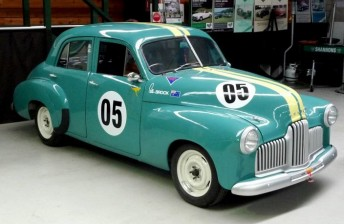 Peter Brock's last race car to be auctioned