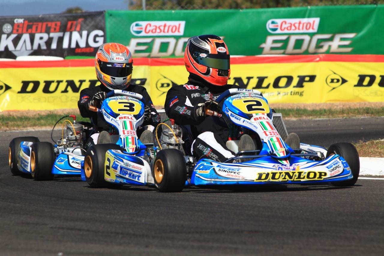 Patrizi Corse drivers race the elements