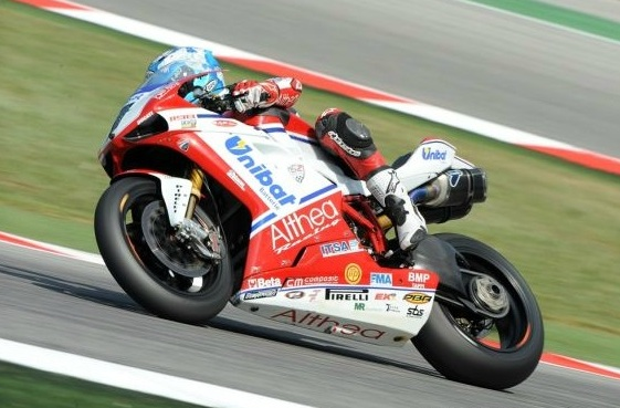 Checa unstoppable at Misano