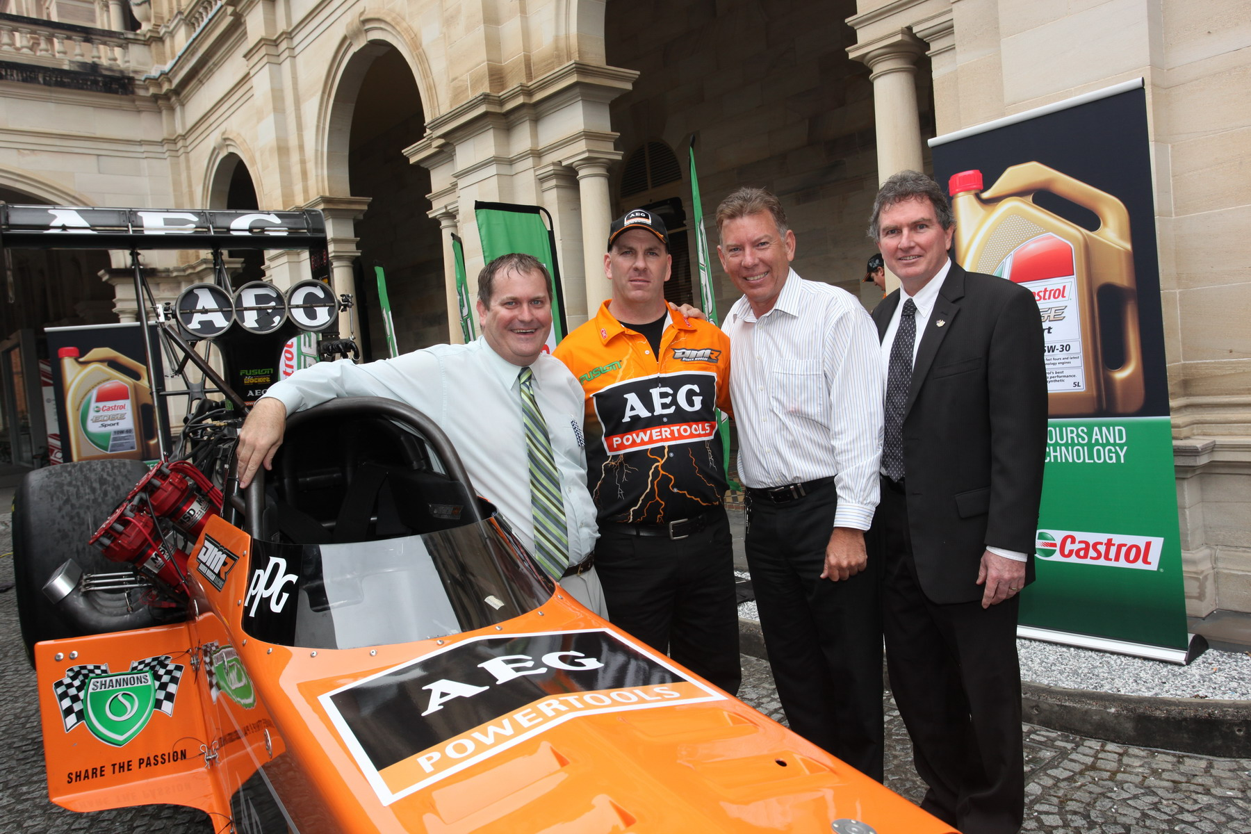 Qld Parliament gets a high-octane visitor