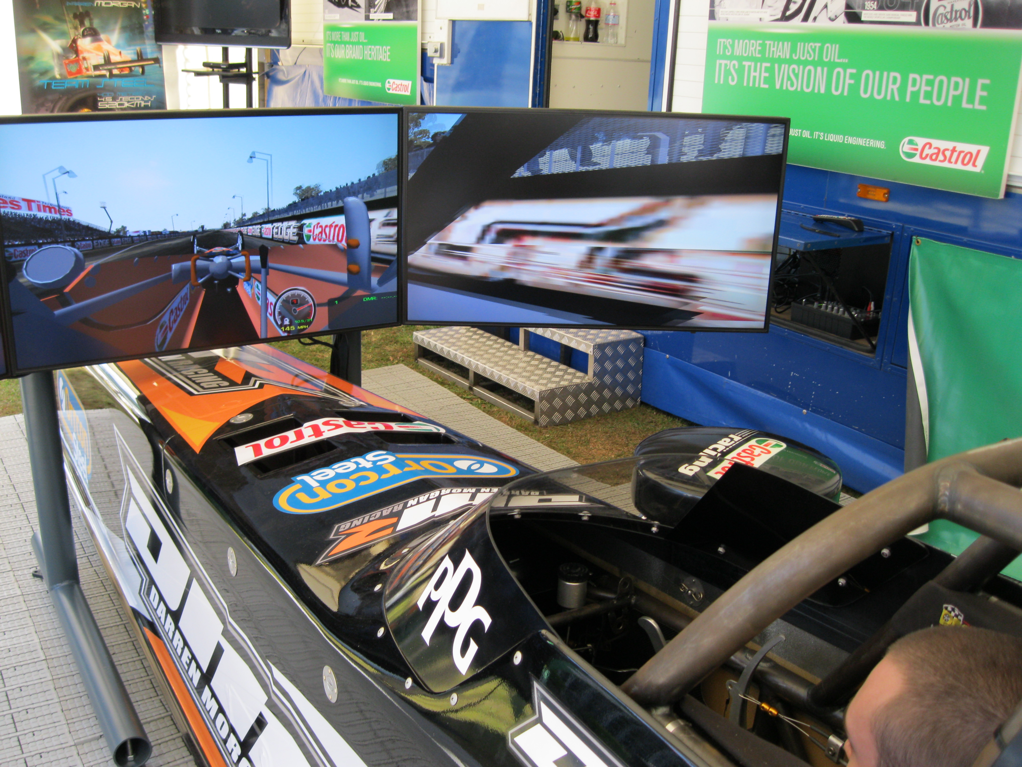 World first TF sim unveiled at Winternats