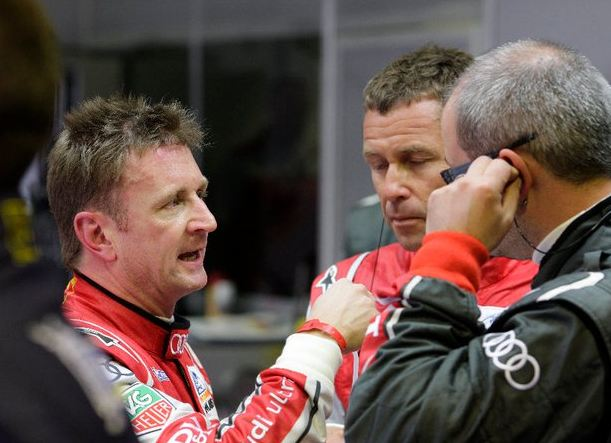 Allan McNish defends driving after crash