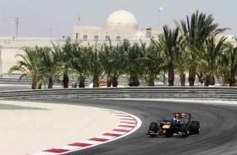 Sebastian Vettel during the 2010 Bahrain GP weekend