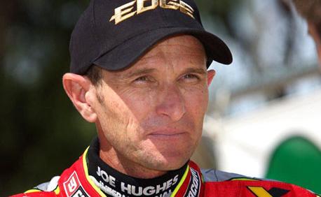 Leigh Adams injured at Finke Desert Race