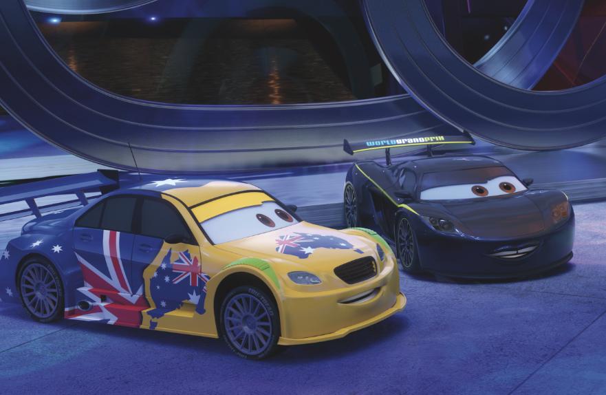SNEAK PEEK: Mark Winterbottom in Cars 2