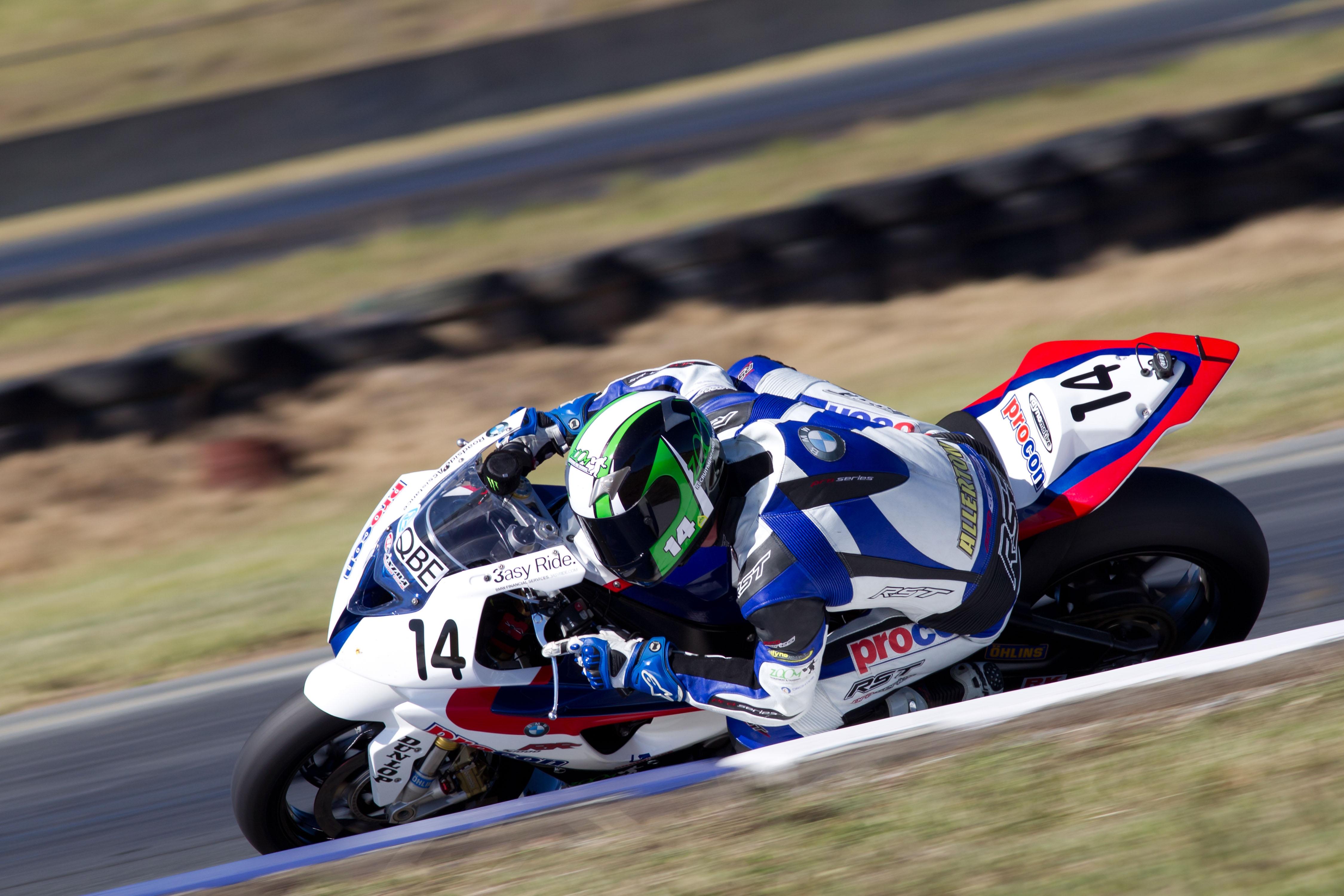 Allerton fastest at QR Superbike practice