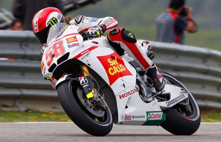 Marco Simoncelli on pole for Dutch TT