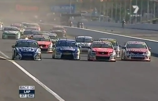 Three drivers docked 25 points for restart mess