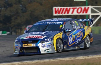 FPR and Fujitsu V8 teams testing at Winton