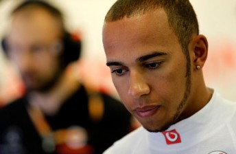 Hamilton quickest as Webber crashes in Hungary