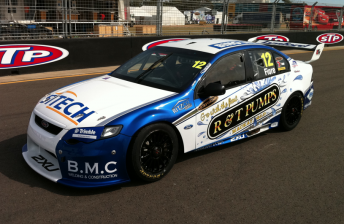 Dean Fiore's new look for this weekend's V8 Supercars event in Townsville
