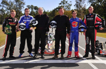 V8 drivers at Ipswich today