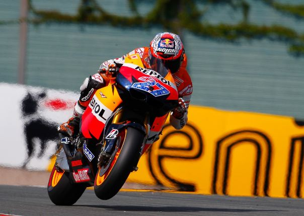 Casey Stoner takes sixth pole of 2011