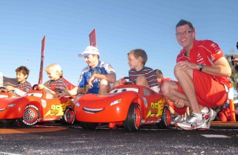 Kids race for Piston Cup in Townsville