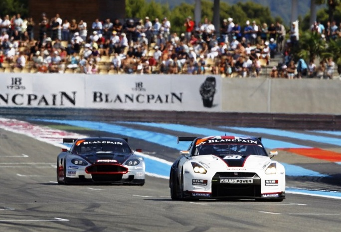 Brabham narrowly misses French GT1 podium