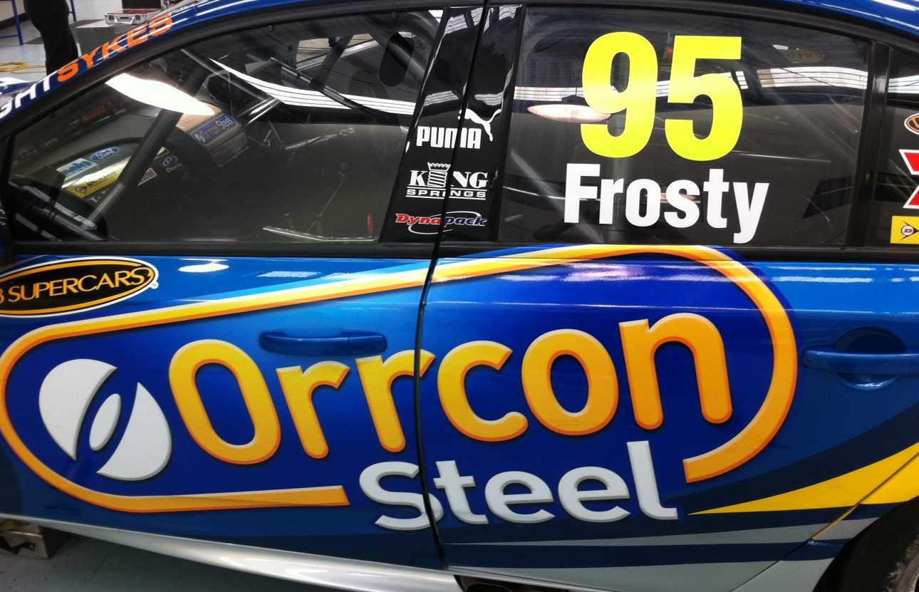 FIRST PIC: Frosty's new number for Townsville