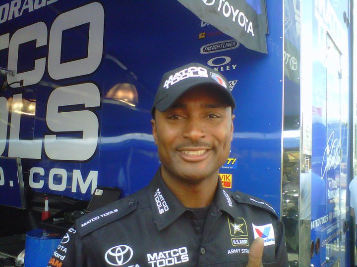 Antron Brown wins NHRA at Sonoma