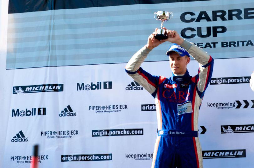 Barker impressive in Carrera Cup GB debut