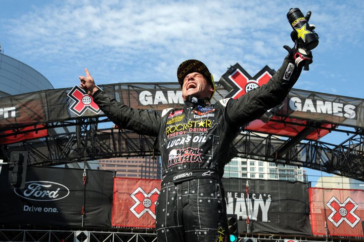 Deegan upstages stars to win X Games